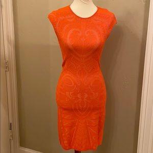 RVN Orange dress from Revolve